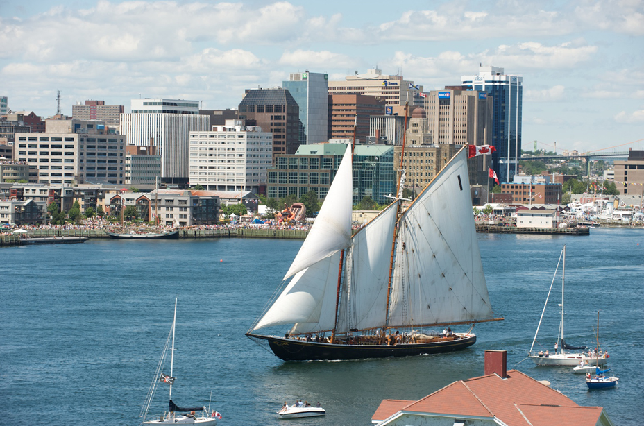 Images from the Parade of Sail which ended the Halifax visit of tall ships participating in the Nova Scotia Tall Ships 2009 Festival