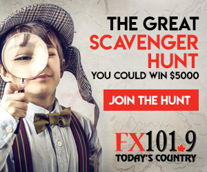 Join the FX101.9 Scavenger Hunt
